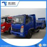 Plat de camion léger, simple rangée de 8t de camion à benne de fret pour la vente du chariot