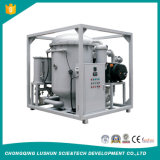 Macchina fine di depurazione di olio del trasformatore di vuoto della fase del doppio di qualità di Lushun Zja