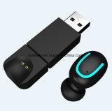 USBの充電器が付いているハンズフリーQ13s Bluetooth無線Earbudsのヘッドセットのヘッドホーン