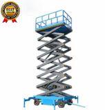 4-18m móvil hidráulico de elevación eléctrica elevador de tijera móvil antena de la plataforma de trabajo