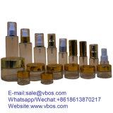 Bottiglia di vetro libera con il contagoccia/spruzzatore/la lozione/la plastica