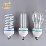 Lâmpada economizadora de LED grossista 9W E27 Luz espiral do LED