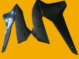 Motorrad-Plastikteil, Kraftstofftank-Schutz-Schwarzes Kawasaki-Klx250 (Farbe)