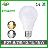 Venta al por mayor buena calidad SMD2835 9W LED bombilla redonda