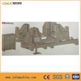 Janela de PVC solda da estrutura da porta da máquina na linha de produção