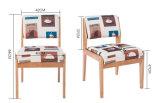 固体木の椅子の居間は議長を務める多彩な椅子ファブリック椅子のコーヒー椅子(M-X2051)の