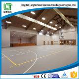 Costruzione del centro sportivo della struttura d'acciaio
