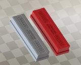 Rote Vinylbeschichtung-Schutzkappen für Handlaufkatzen