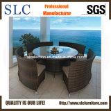 Mobilia dell'hotel del rattan/tavola rotonda/tavola rotonda con quattro presidenze (SC-B8917)