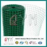 El PVC cubrió el rodillo soldado jaula galvanizado del acoplamiento de alambre del conejo