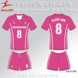 Healong 판매를 위한 최신 판매 의류 기어 승화 남학생 축구 셔츠