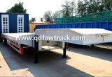4 axles 60-80 низкого тонн трейлера кровати