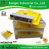 Mini machine automatique d'établissement d'incubation d'oeufs de l'incubateur 96 d'oeufs de poulet