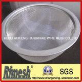 Circulaire/différentes formes filtre en cuivre en acier inoxydable de Wire Mesh Cloth