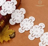 チャーミングなスイスの綿のボイルの刺繍のレース