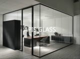 6mm 8mm 10mm 12mm Verre trempé transparent pour bureau Partition Wall