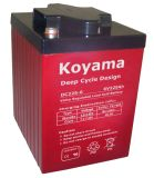 High Performance 12V UPS & Solar Deep Cycle Gel Battery AGM Batterie de stockage