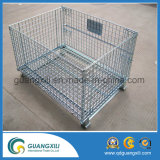 Steel Wire Mesh Metal disc Cage for Warehouse Storage