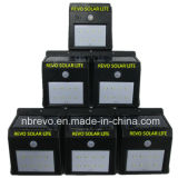 4pack de Energía Solar Sensor de movimiento PIR Luz de pared (RS2003-8-4)