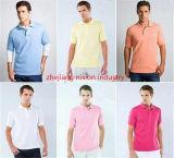 Elección de la publicidad Diseño de logotipo personalizado de impresión barata Camiseta Polo