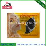 El tratamiento de lodo negro de ojos máscara para los ojos Cuidado de la piel cristalina del colágeno anti arrugas Parche