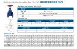 Valvola a saracinesca non aumentante resiliente del gambo della sede di BACCANO F4/F5