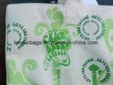 Saco feito sob encomenda da tela de algodão da lona do saco de compra do logotipo