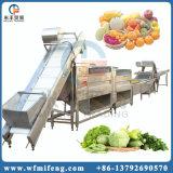 ステンレス鋼の自動新鮮な野菜のフルーツのクリーニングの洗浄の洗濯機機械