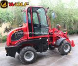 Carregador de roda de 1 tonelada com capacidade de balde 0.7m3