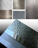 Strato di alluminio rivestito della buccia d'arancia di PE/PVDF per la decorazione