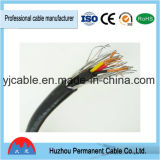 Cable de transmisión de cobre/de aluminio de Armoring del alambre de acero del aislante del conductor XLPE