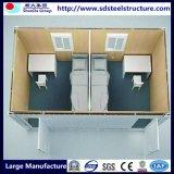 Дом контейнера с комнатой омовения комнаты кухни спальни