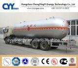 De GNL do oxigênio líquido do nitrogênio de carbono do dióxido do argônio do depósito de gasolina do carro reboque químico Semi