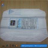 PP Block Bottom Bag para embalagem de 25 kg de cimento