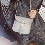 2017 New Winter Coreano Madeira Bead Tassel Small Bag Shoulder Bag All-Match Singles (GB # MZ)