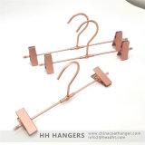 Nam Hanger van het Metaal van de Rok van de Broeken van het Aluminium van het Koper de Gouden toe