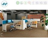 Partition moderne de compartiments de solution de bureau de concept neuf avec le fil de conformité d'UL pour nous marchés