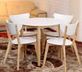 Madera sólida contratante cenando la silla (M-X3082)