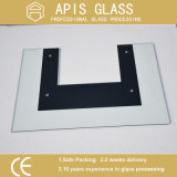 8mm Printing Tempered Glass for Microwave Oven Door