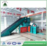 Automatische hydraulische horizontale Presse-Ballenpreßmaschine für Occ Papppapier