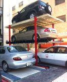 地下4つのポストピットの倍のプラットホームのガレージ車の駐車上昇