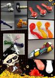 Pipe en verre colorée de main de Sherlock pour la vente en gros