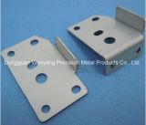 chapa metálica de estampagem de alumínio personalizado dobrando parte