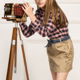 Vestito controllato ragazze per gli uniformi scolastichi