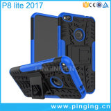 Caja híbrida del teléfono de Kickstand para Huawei P8/P9 Lite 2017