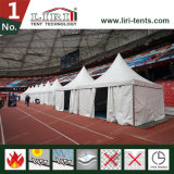 Weißes Belüftung-Gewebe-Pagode-Zelt für Rotwein-Festival-Zelt