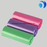 Impression faite sur commande en plastique de sacs plats de couleur claire de rebut