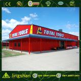 アフリカのモジュラー鉄骨構造の構築のスーパーマーケット(LS-S-017)