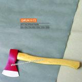 La mano del hardware della costruzione H-76 lavora l'ascia rivestita di plastica della maniglia A601