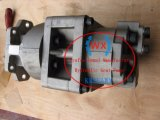 Niveladoras D375A-2, D375A-5 pompa hydráulica, bomba de engranaje doble hidráulica 705-52-40100